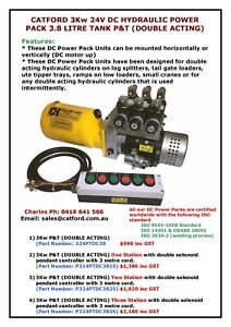 24V-DC-Double-Acting-Hydraulic-Power-Pack-3Kw-3-8Ltr-Round-Oil-Tank