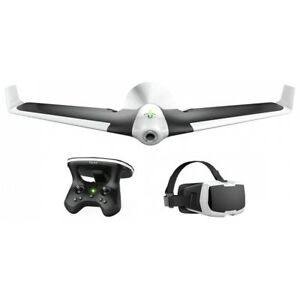 PARROT DISCO FPV DROHNE/DRONE + SKYCONTROLLER + BRILLE ACTION CAM KAMERA