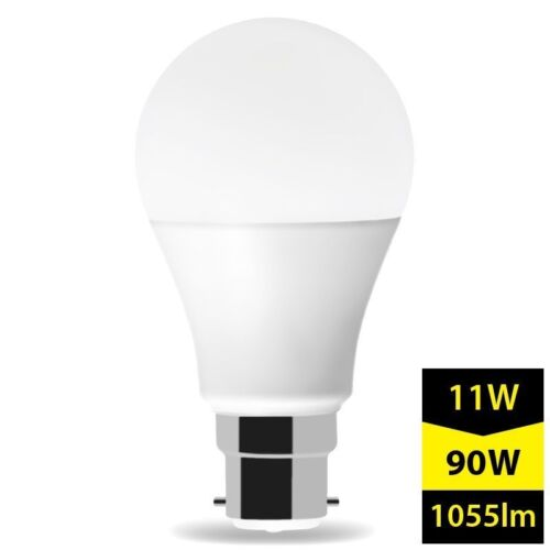 LED Light Bulb B22 A60 Bayonet Cap Warm White Frosted 11W LUMI Set 2x 6x 10x