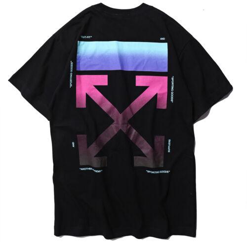 2019 Rare KANYE WEST WHITE style Gradual change Print GOD T-Shirts Sold Oversize