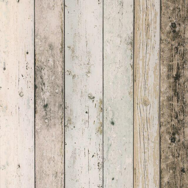 Vliestapete Holz-Optik Planken beige grau AS Creation 8550-39 (2,41€/1qm)