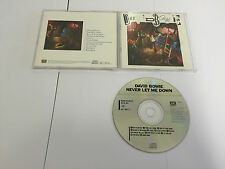 DAVID BOWIE-Never Let Me Down CD (1987) No Barcode JAPAN CD NMINT/EX