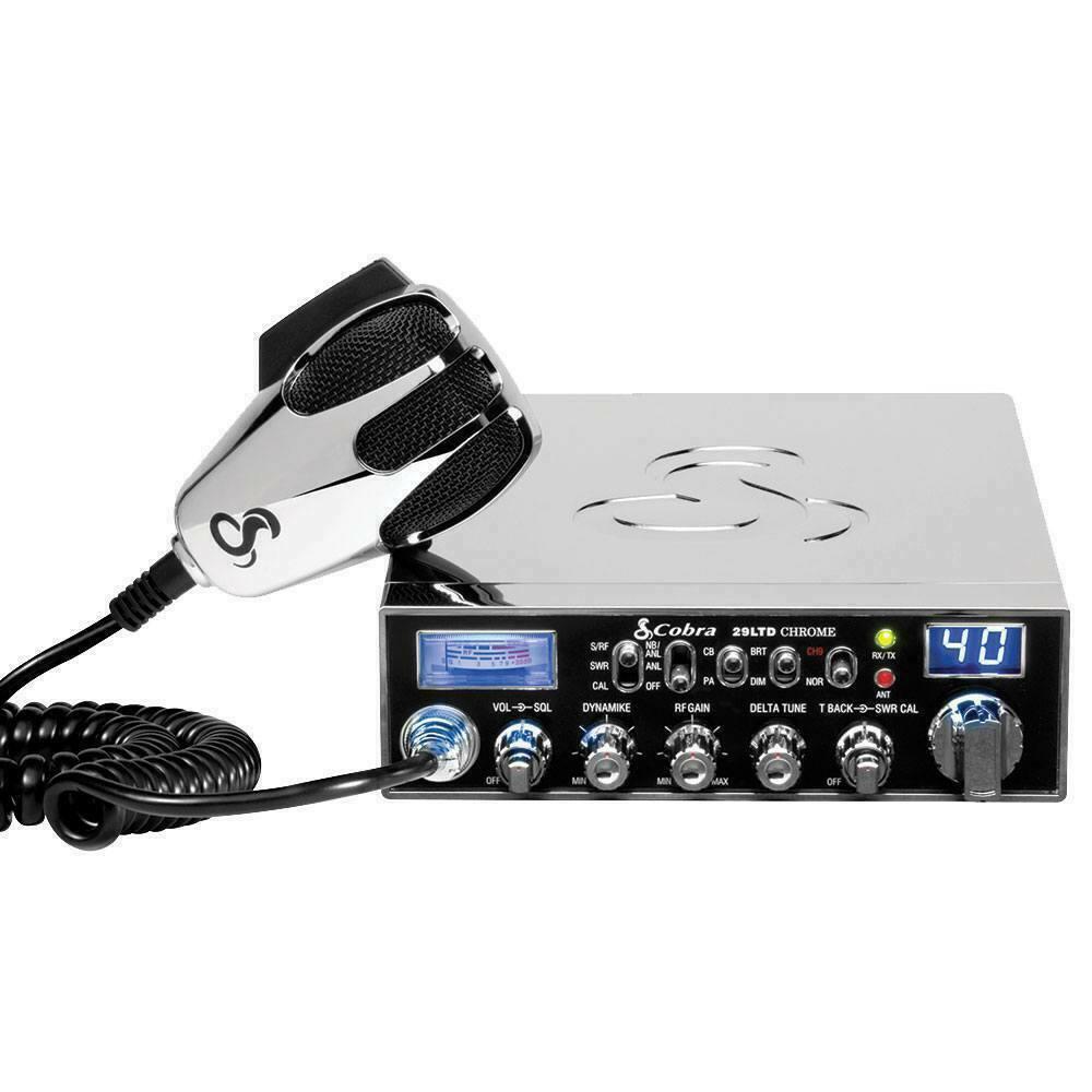 New Cobra Electronics 29 LTD Classic Chrome Professional CB Radio - 1 yr. Warranty.