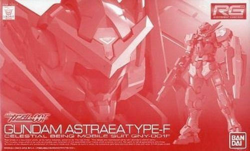 BANDAI RG 1 144 GUNDAM ASTRAEA TYPE-F Model Kit Gundam 00 NEW from Japan