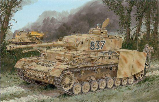Dragon 1 35 Pz.Kpfw.IV Ausf.H Late Production w Zimmerit