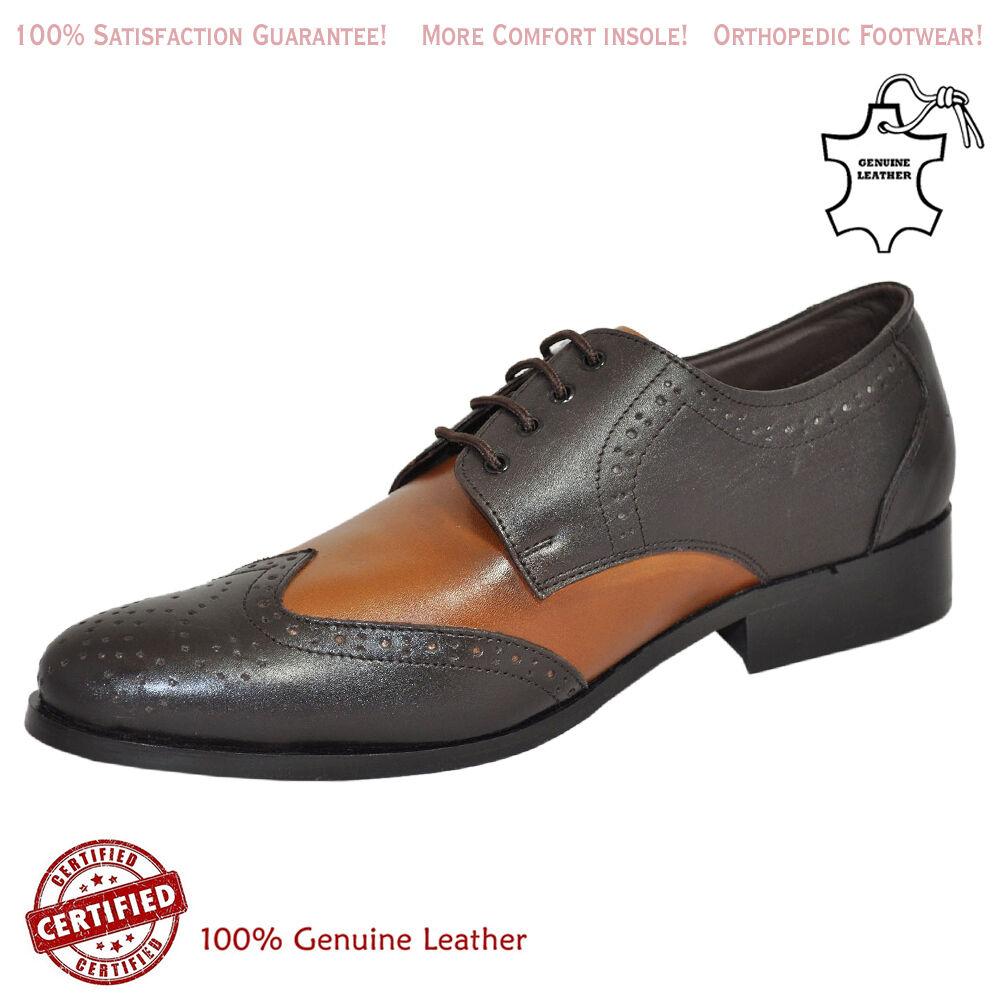 Para Hombre Zapato Bajo De Cuero Suela De Cuero Oxford Diseño Zapato De Cuero