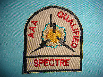 VIETNAM WAR PATCH, USAF BAIL OUT QUALIFIED SPECTRE AAA