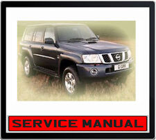 Aus vers. NISSAN PATROL Y61 GU 1997-2004 Repair Workshop Service Manual on CD