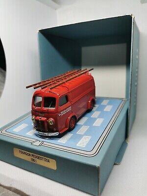 Peugeot D3A Pompiers Cassis Norev 1//43