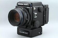 *** Excellent++ *** Mamiya RZ67 Pro II + 110mm + 120mm Film Back + Winder II Set