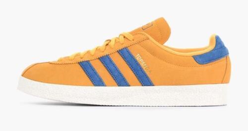 6 Uk Nuove Gold 5 Oro taglie Retro Shoe Trainer Adidas Blue bianco Topanga  S75501 blu Mens 5 10 vqP8g 9710022fbaa