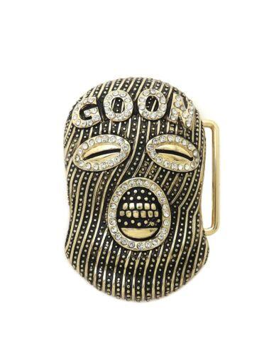 M,L,XL Men/'s Hip Hop Fashion Belt Buckle Anarchy Mask Size Sniper Gang OTF