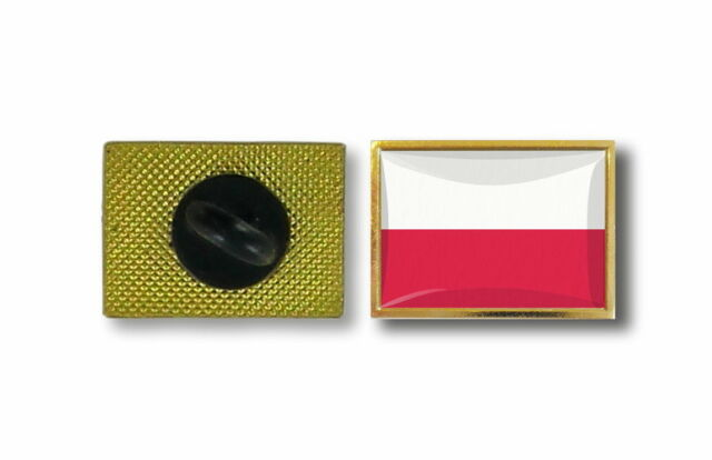 pins pin's flag national badge metal lapel backpack hat button vest poland