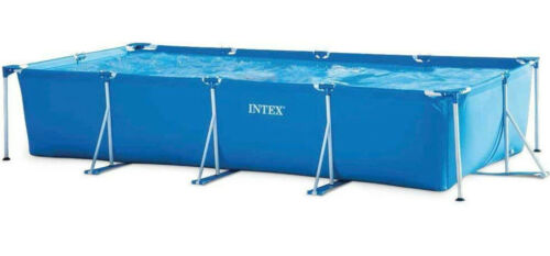 Intex Metal Frame Pool 450x220x84cm Swimming Pool Family Frame Intex 28273NP