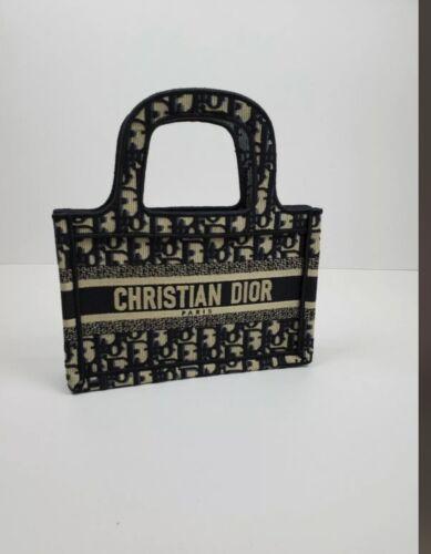 Authentic Dior Mini Book Tote Bag