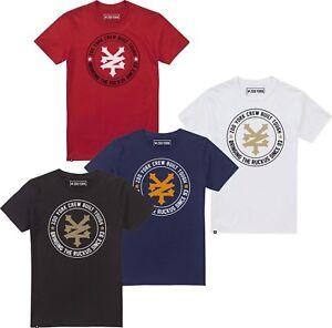 Zoo-York-Mens-Skate-T-Shirt-Tee-Circle-Logo-Navy-Red-Black-or-White