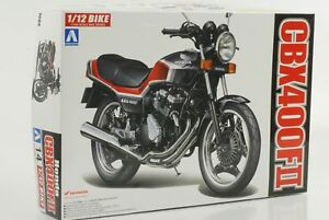 Honda-CBX400F-II-Bike-Motorcycle-Kit-1-12-Aoshima-14