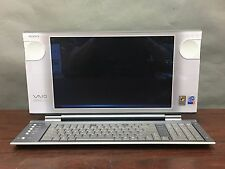 Vintage Sony VAIO All In One PCV-W30 Desktop Computer Intel P4 2ghz 512mb 80GB