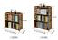 Bamboo-Antique-Style-Cabinet-Book-Shelf-storage-choice-fantastic thumbnail 8