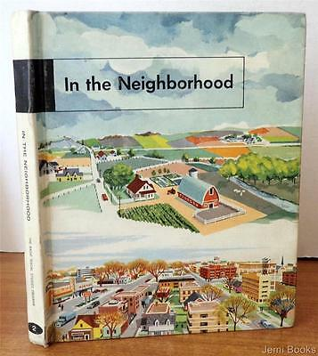 In The Neighborhood by Paul R. Hanna 1958 Elementary Textbook Language Arts