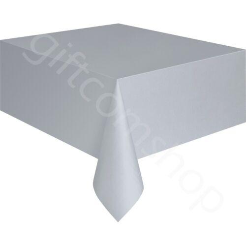 Plastique Jetable Table couvre Chiffon Party Vaisselle Anniversaire Mariage 9x4.5 FT