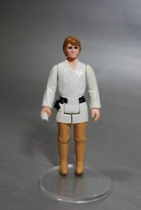 VINTAGE-Star-Wars-BROWN-HAIR-FARM-BOY-ACTION-FIGURE-Luke-Skywalker-KENNER-MINT