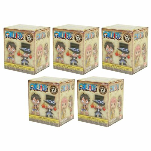 Funko ONE PIECE Mystery Minis Blind Box Vinyl Figures 5 Boxes