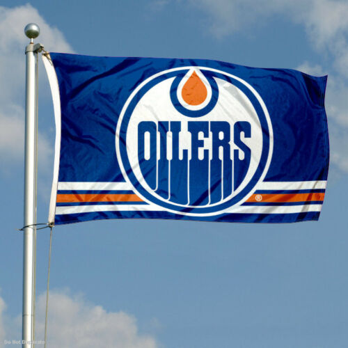 Edmonton Oilers Flag 3x5 Banner