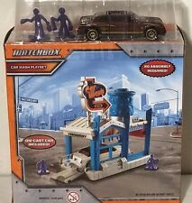Matchbox Car Wash Playset Diecast Limo Included Ages 3+