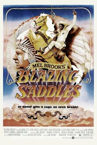 Blazing Saddles Movie Poster 24x36