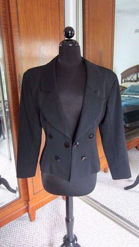 Vintage Yves Saint Laurent Nan Duskin Black Jacket