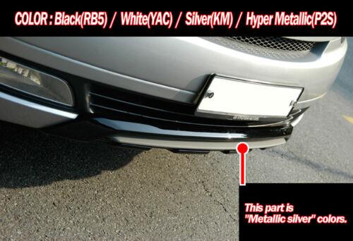 Front Rear Bumper Guard Diffuser 2p for 2007 2015 Hyundai i800 H1 Starex