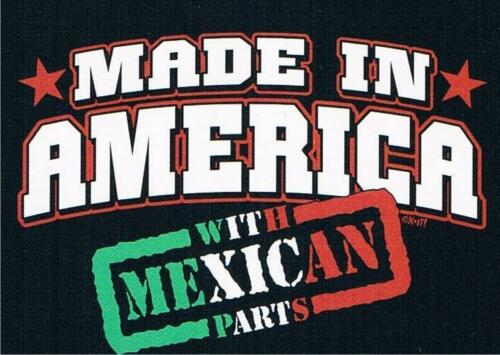 MADE IN AMERICA WITH MEXICAN PARTS Kids T-Shirt 6,12,18,24 MOS 14-16L /&2-4 XS
