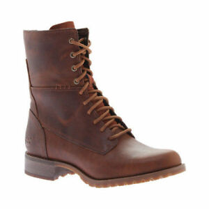 003f5d511ad Details about TB0A169S Timberland Women's Banfield Mid Lace Leather Boot  BROWN ALL SIZE