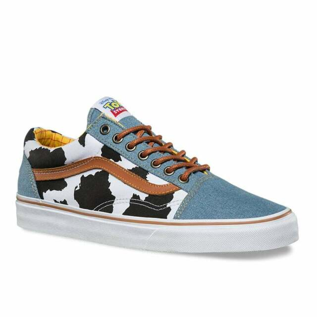 Escuela primaria Muestra Diez  RARE VANS X Toy Story Woody Denim Old Skool Lace up UK 3 EUR 35 Kids Boys  Girls for sale online | eBay