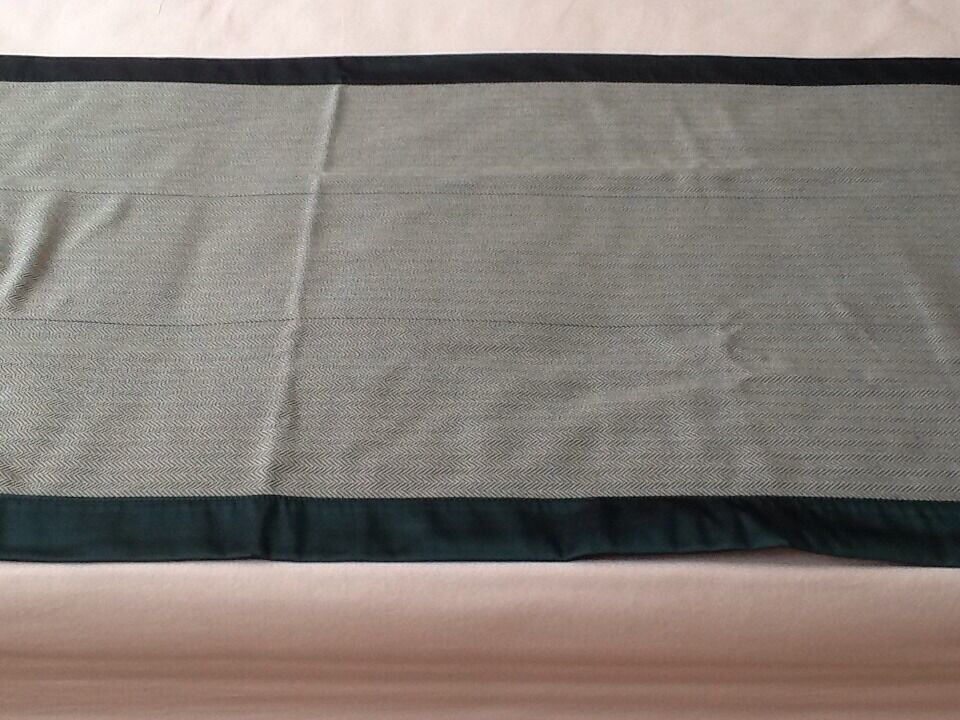 BED RUNNER - HOTEL QUALITY - TEAL   EMERALD COLOUR