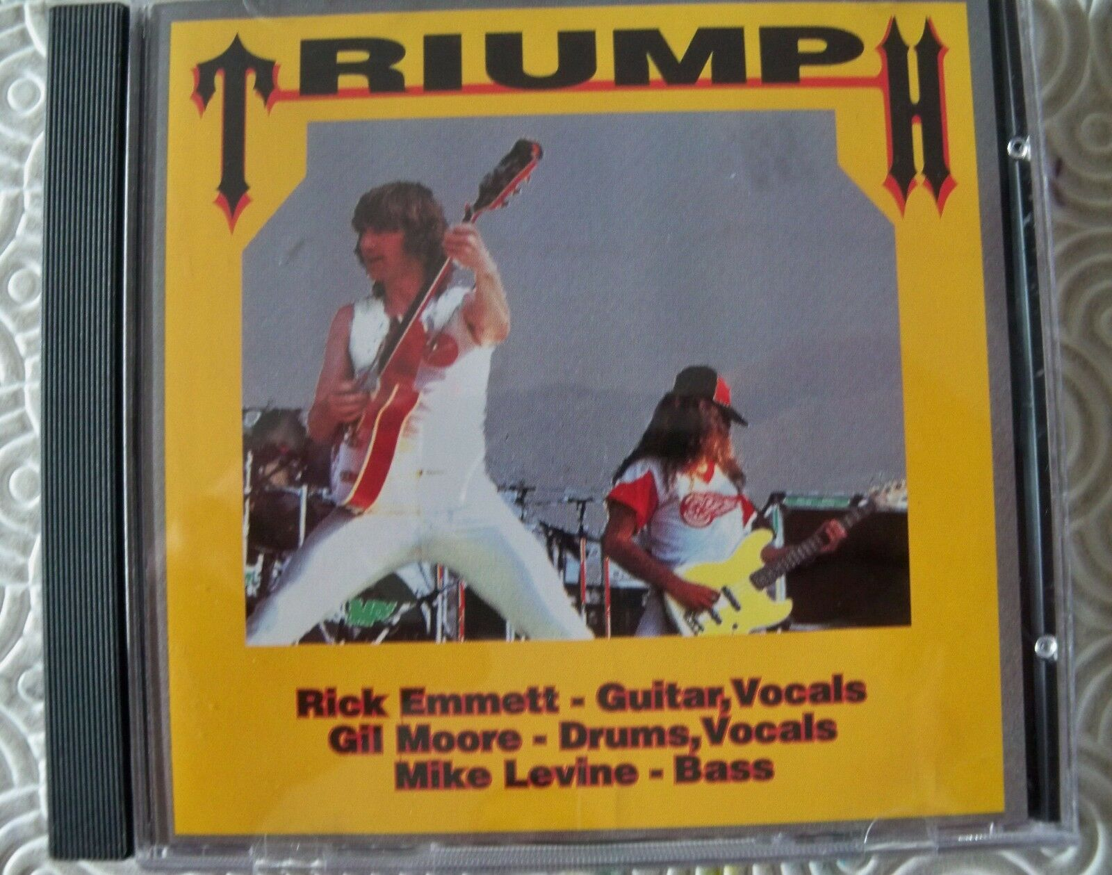 TRIUMPH   PRECIOUS METAL VIRTUOSO   CD RARE LIVE IN DALLAS 1984 OH BOY 1-9143
