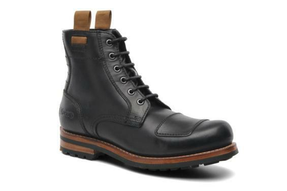 Clarks & NORTON RISE  BLACK HARD LEATHER 8,9,10,10.5 BIKER Stiefel  UK 8,9,10,10.5 LEATHER G c3bf81