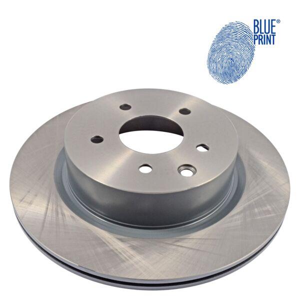2 Stück Hinterachse Blue Print ADN143158 Bremsscheibe