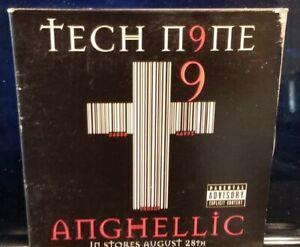 Tech N9ne - Angellic CD Sampler jcor strange music 2001 juggalo krizz kaliko icp