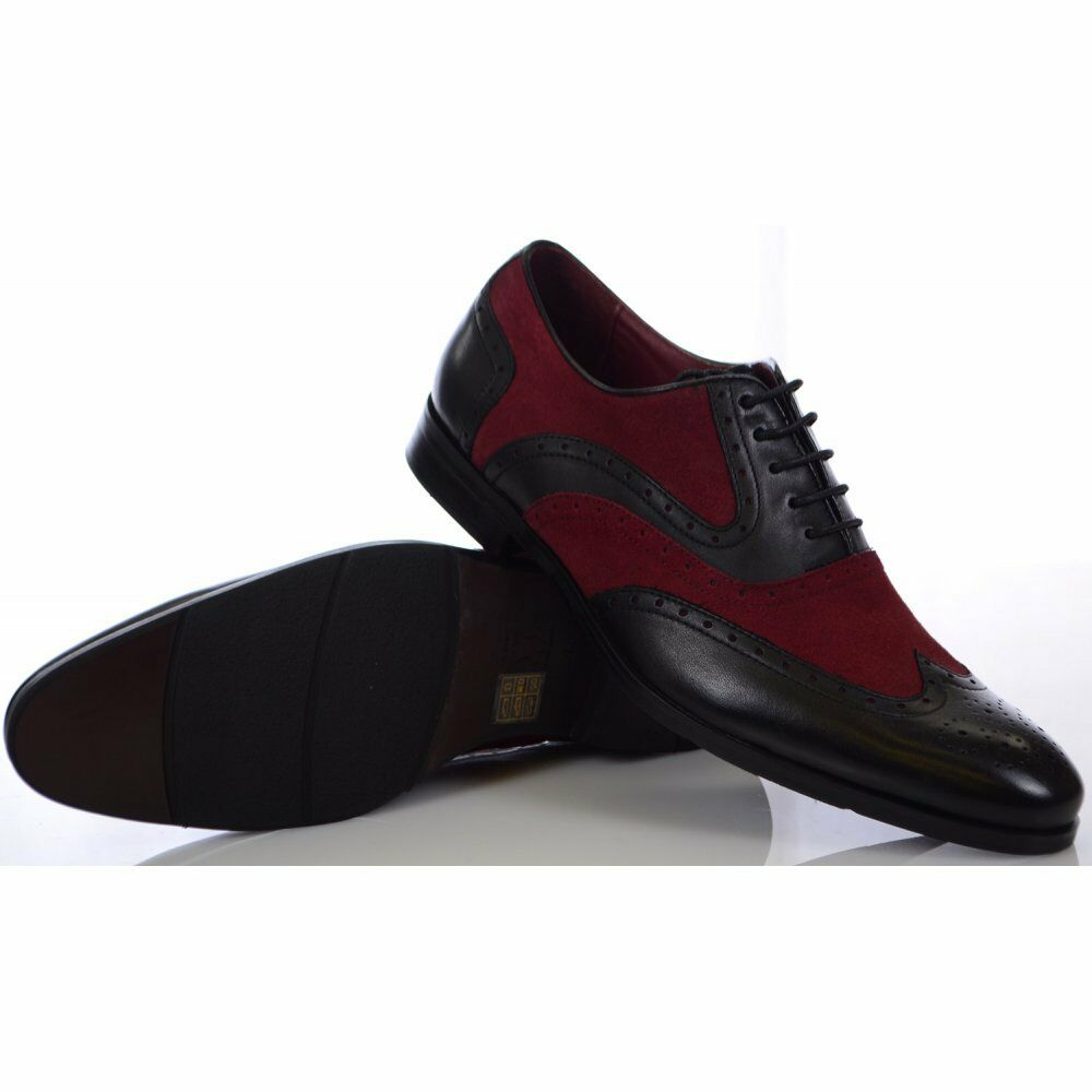 Billig gute Qualität Azor Shoes Miller Black/Red Shoes