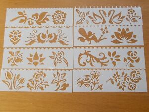 Stencils Painting Scrap Writing  Pattern  Plastic  Template  Layering  Leaves