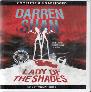Darren-Shan-Lady-Of-The-Shades-8CD-Audio-Book-Unabridged-Crime-Thriller-FASTPOST