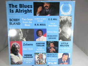 SOUL-VARIOUS-ARTISTS-LP-The-BLUES-IS-ALRIGHT-VOLUME-I-1985-VG-VG