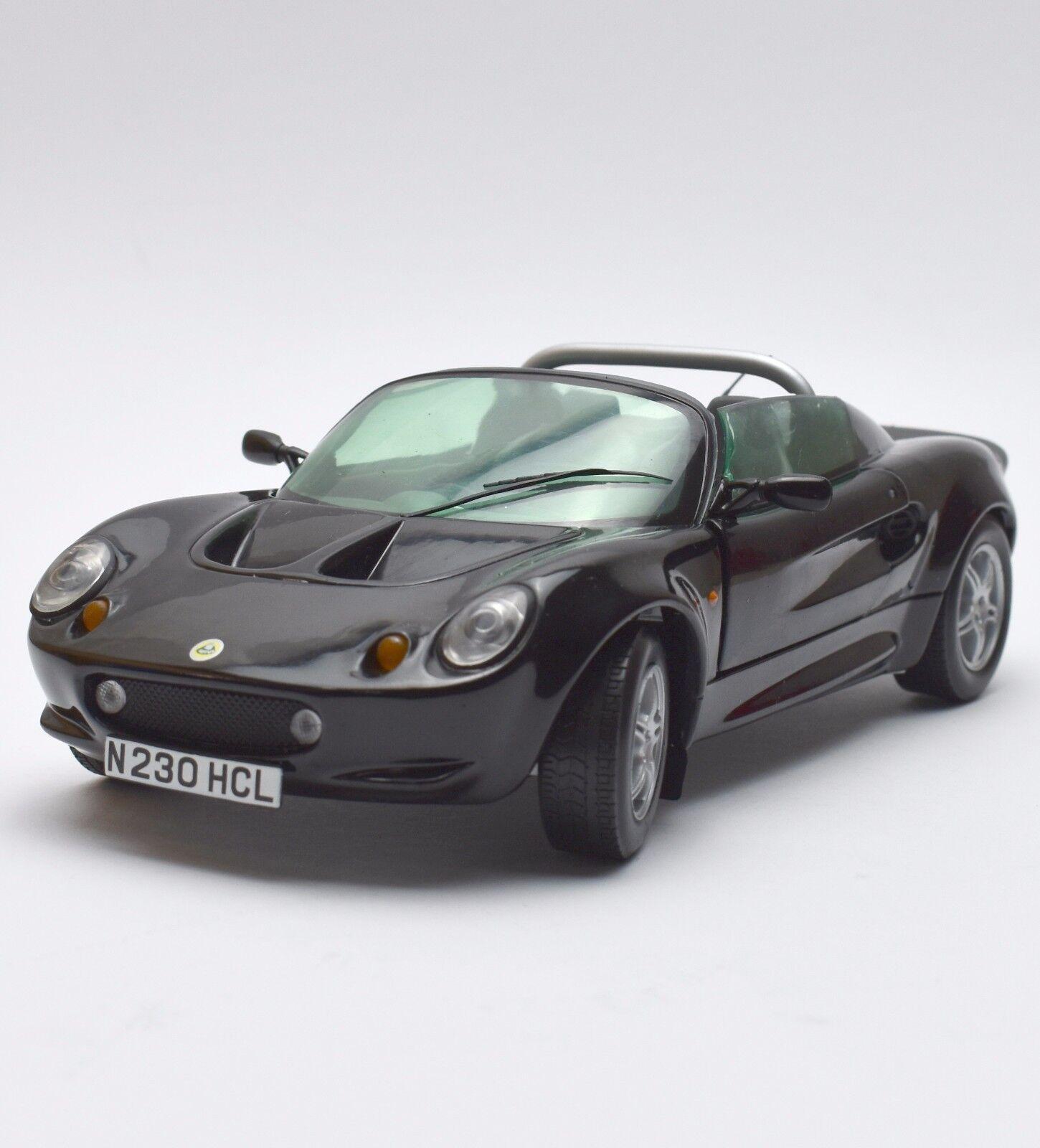 CHRONO H 1022 LOTUS ELISE auto sportive BJ. 1997 NERO LACCATO, OVP, 1 18, k025