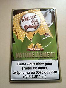 Fleur De Pays Plaque Tole Tabac Ebay