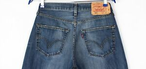 Levi-039-s-Strauss-amp-Co-Hommes-501-Jeans-Jambe-Droite-Taille-W31-L32-AHZ25