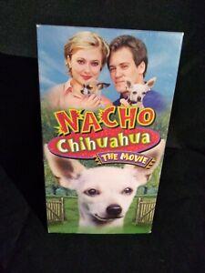 NACHO-CHIHUAHUA-THE-MOVIE-VHS-Rare-HTF
