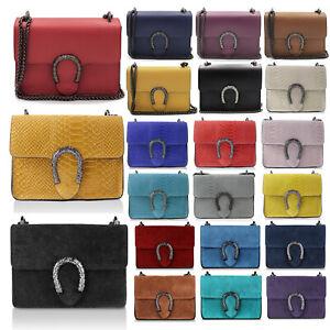 Glamexx24-Genuine-Leder-Clutch-Tasche-Evening-Bag-Chain-Handtasche-Made-in-Italy
