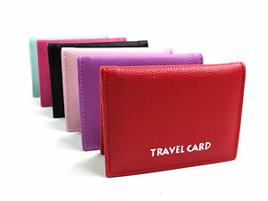 Super-Suave-Calidad-Cartera-Viaje-Bus-PASS-ID-OYSTER-CAD-Driving-Carne